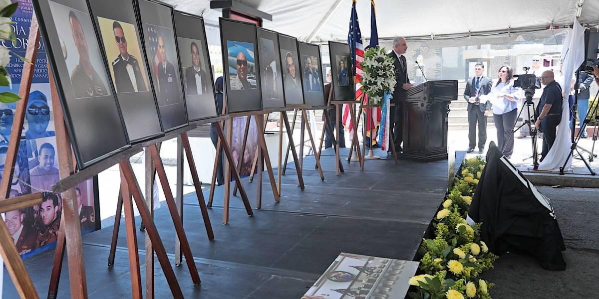 Asamblea Legislativa conmemora soldados boricuas caídos