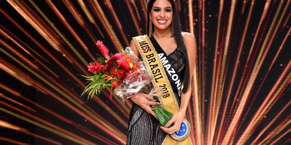 Miss Amazonas desbanca 26 concorrentes e é eleita Miss Brasil 2018