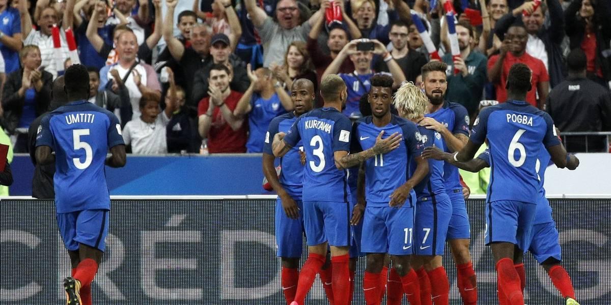 La superpoderosa Francia se presenta en amistoso contra Irlanda
