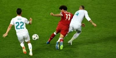 Lesión de Mohamed Salah