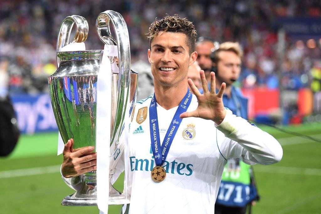 Cristiano celebró su quinta Champions League - Getty Images