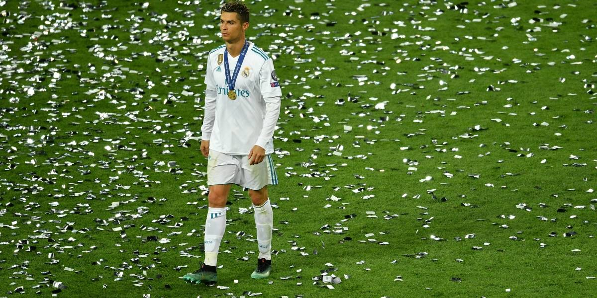 Los contrastes de Cristiano Ronaldo en el Olímpico de Kiev