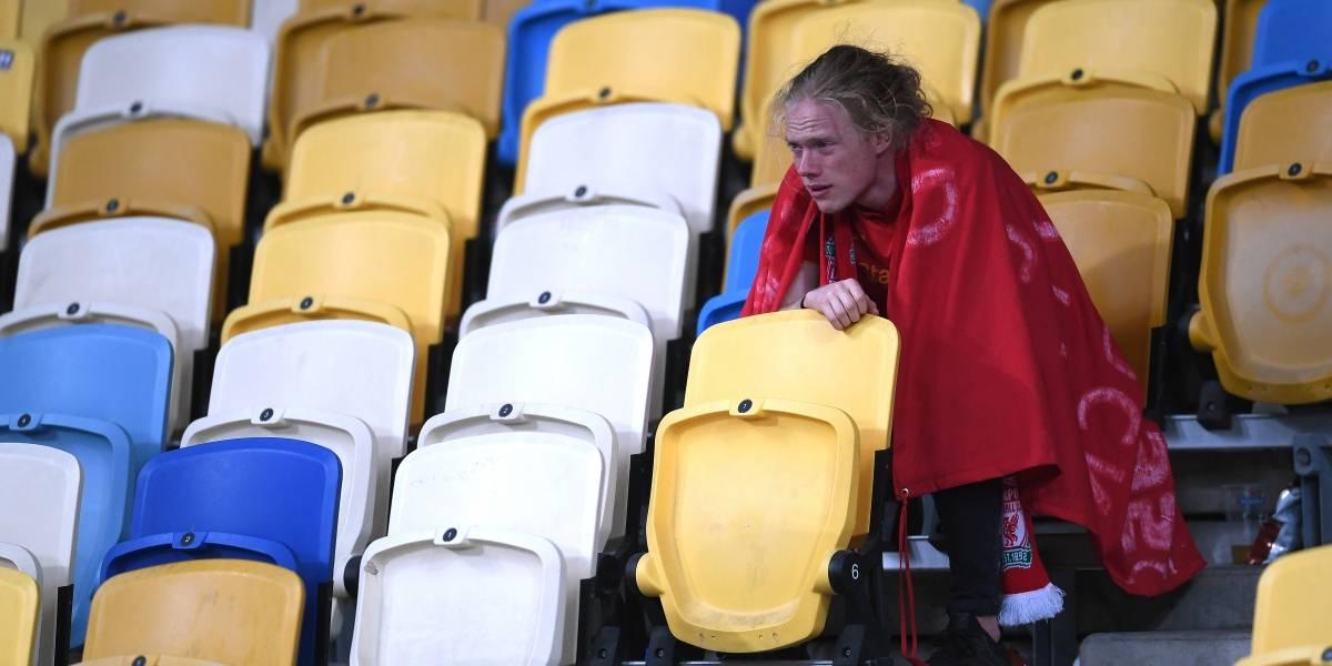 El juego de las lágrimas: la pasional jornada que se vivió en las tribunas del Olímpico de Kiev
