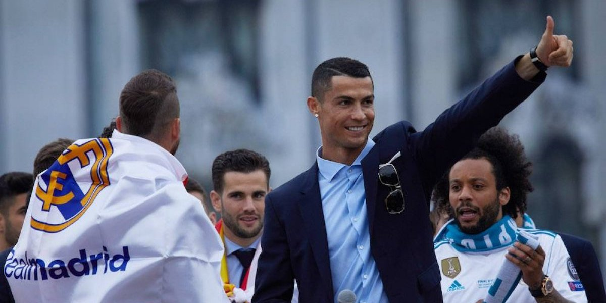 Cristiano manda un mensaje de esperanza a los seguidores del Real Madrid