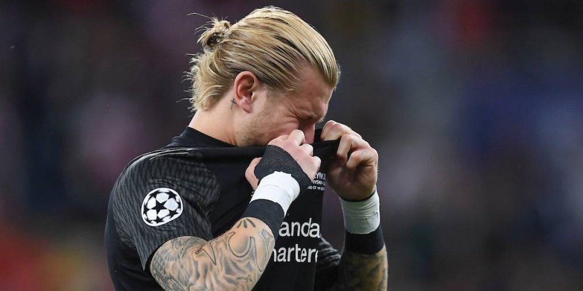 Arquero Loris Karius recibe amenazas de muerte tras errores en la Champions League