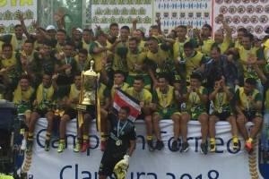El campeón nacional Guastatoya