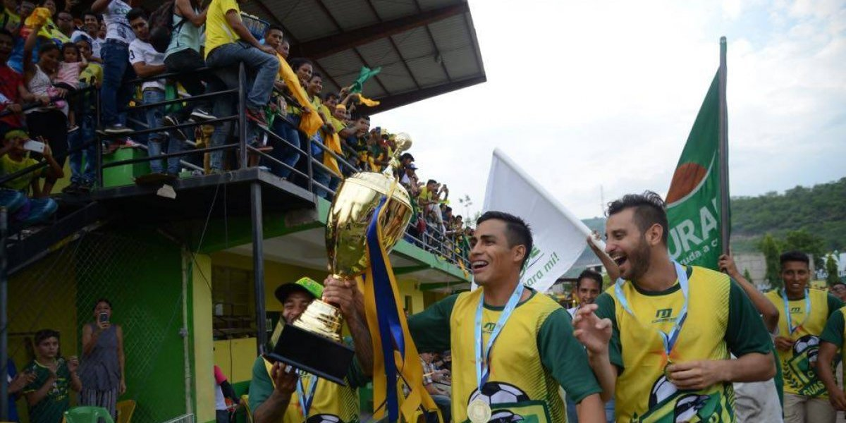 VIDEO. Las mejores imágenes del festejo del nuevo campeón Guastatoya