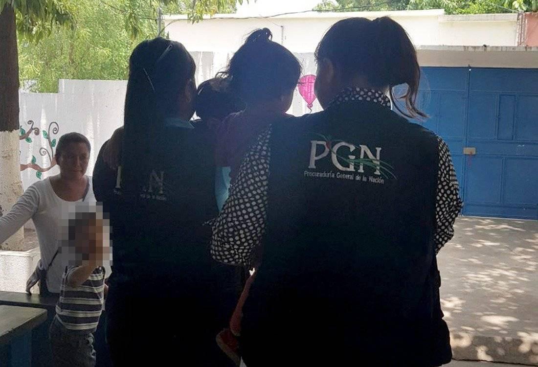 Dos niños y una niña fueron rescatados por la PGN en Zacapa. PGN