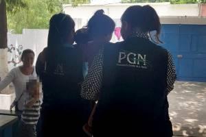 Menores rescatados PGN