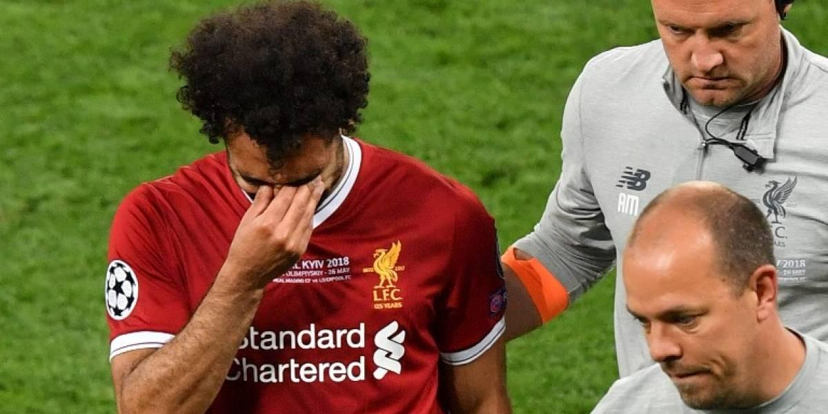 Salah rompe el silencio traslesionarse y da pistas sobre si jugará o noel Mundial