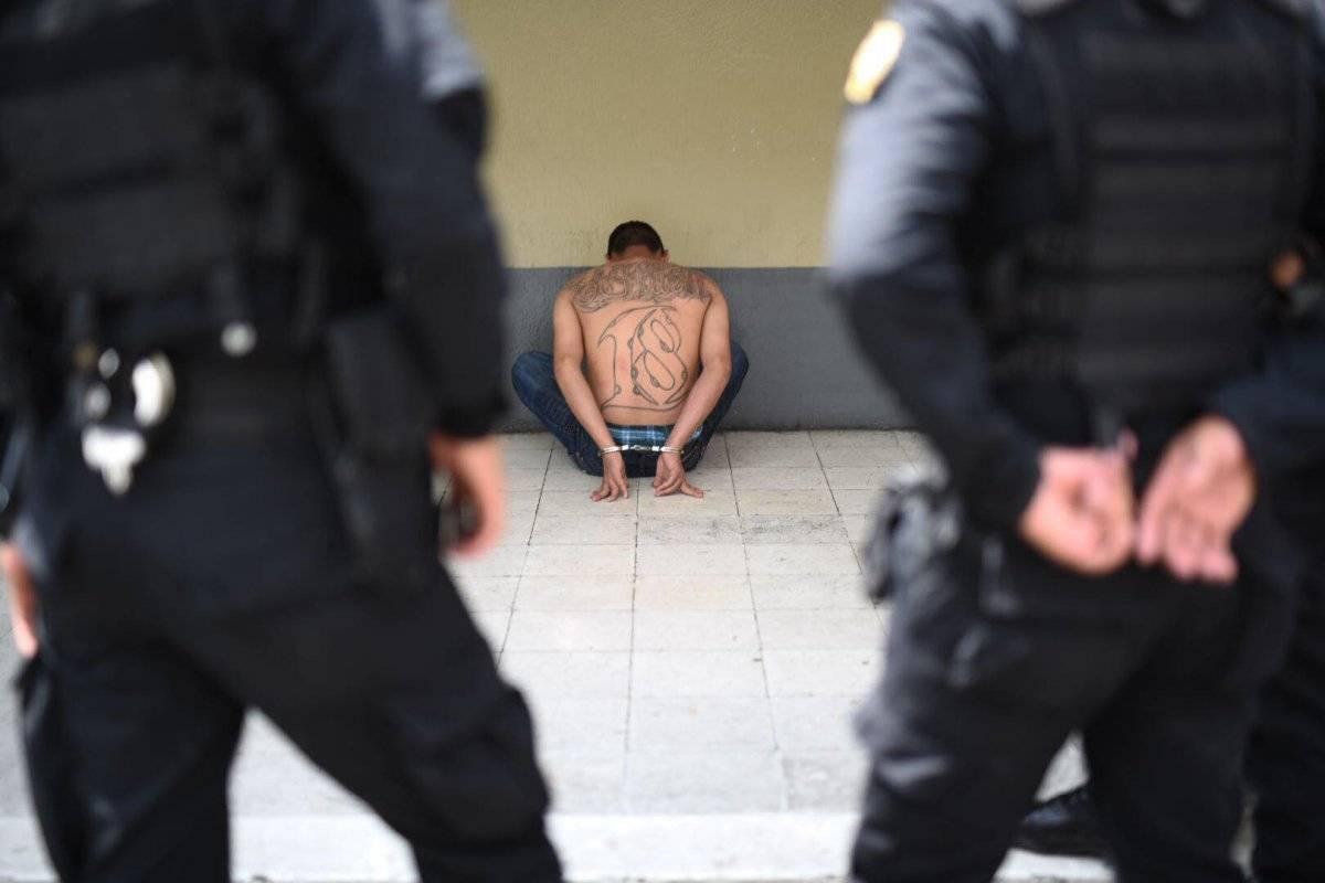 Como Kevin Eduardo Castro fue identificado uno de los presuntos pandilleros. Edwin Bercián