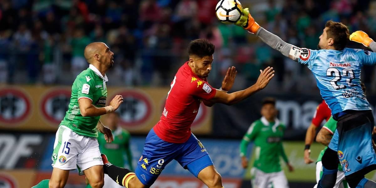 Audax Italiano sigue sin levantar cabeza en el torneo tras igualar con Unión Española