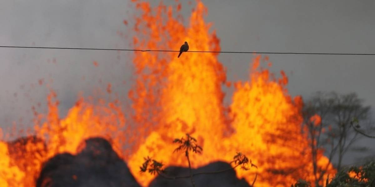 Asombrosa imagen satelital muestra el poder devastador del volcán Kilauea