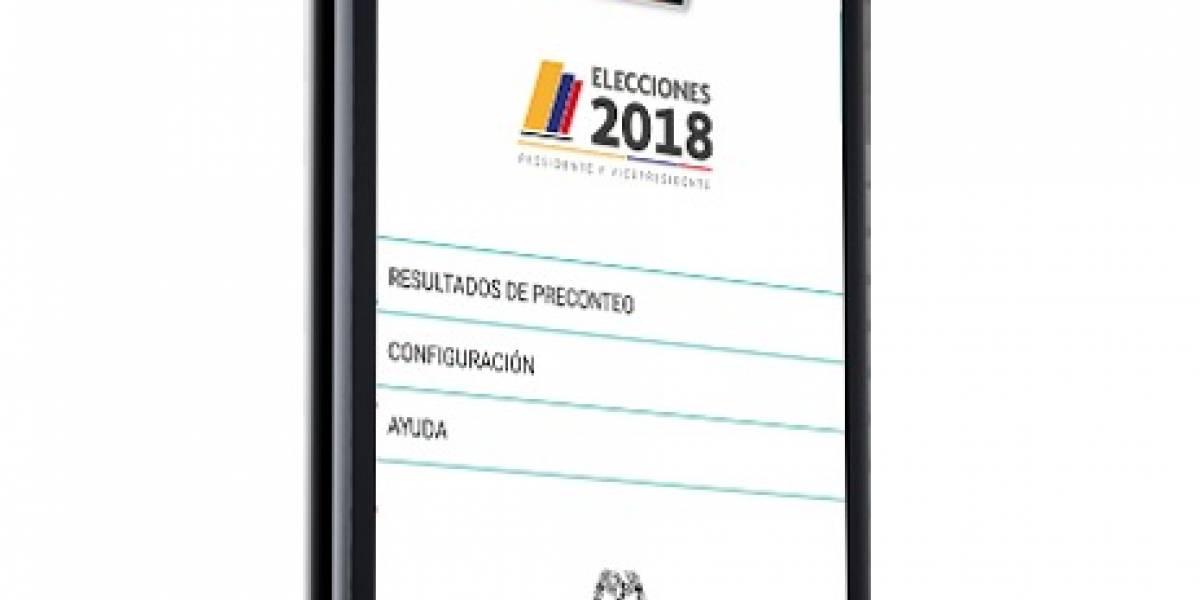 Descargue esta app para ver los resultados de las elecciones en tiempo real