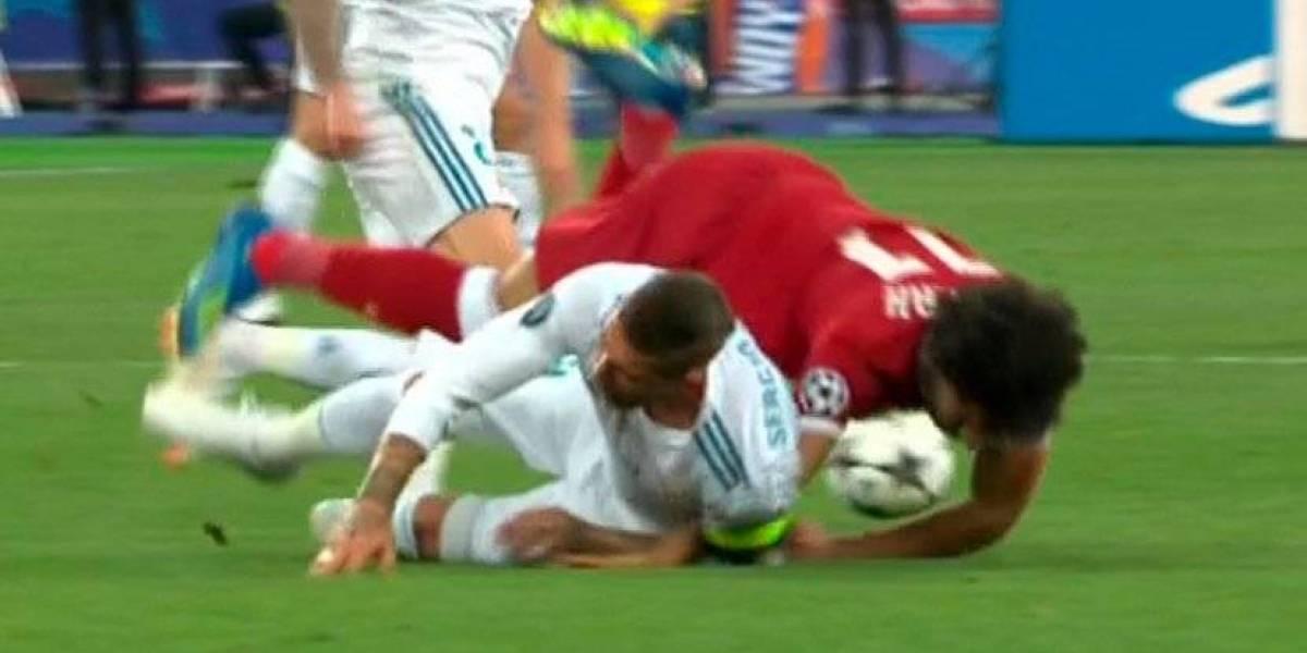 Ramos envía un mensaje a Salah tras la lesión que puede dejarlo sin Mundial