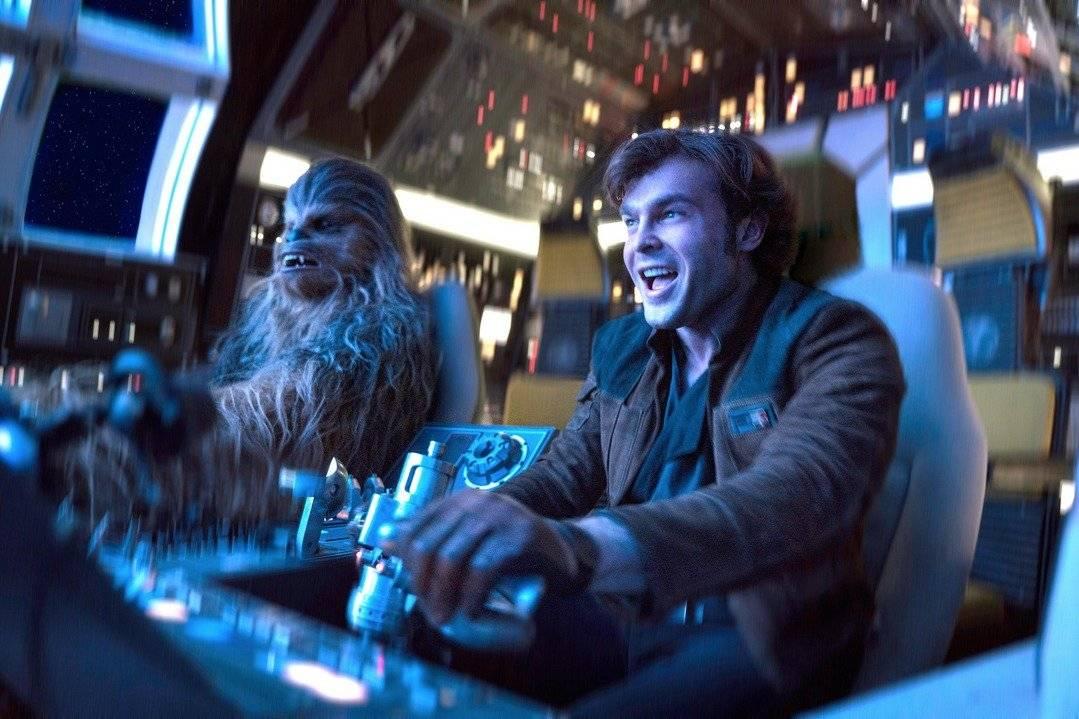 Han Solo y Chewbacca, personajes de la serie Star Wars. Foto: Lucasfilm