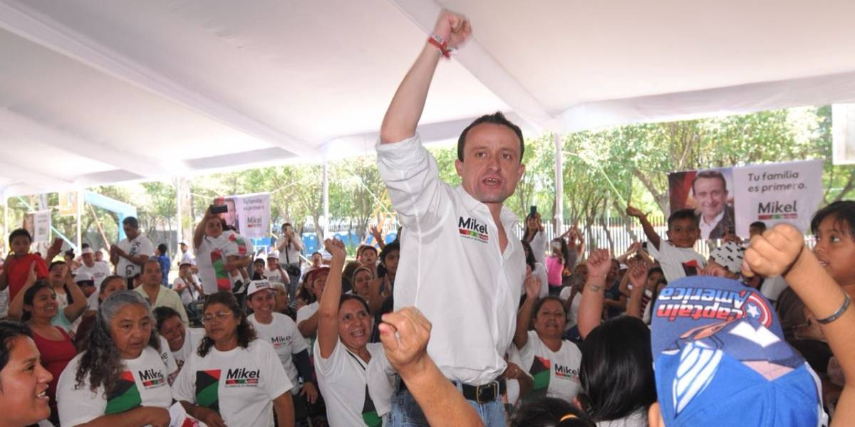 Mikel Arriola se compromete a duplicar apoyos de Prospera
