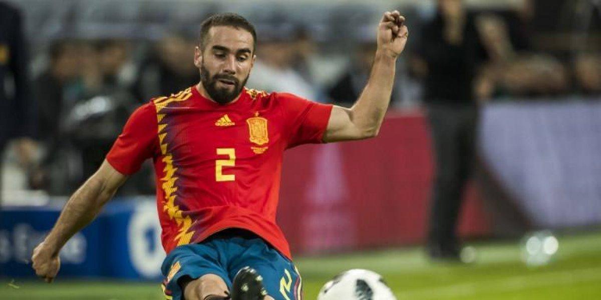 Carvajal retorna a la concentración de España y jugará el Mundial