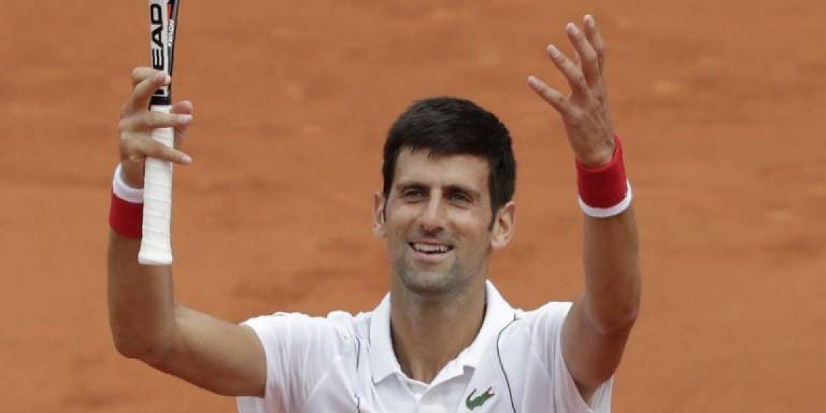 Djokovic debuta con triunfo en el Roland Garros 2018