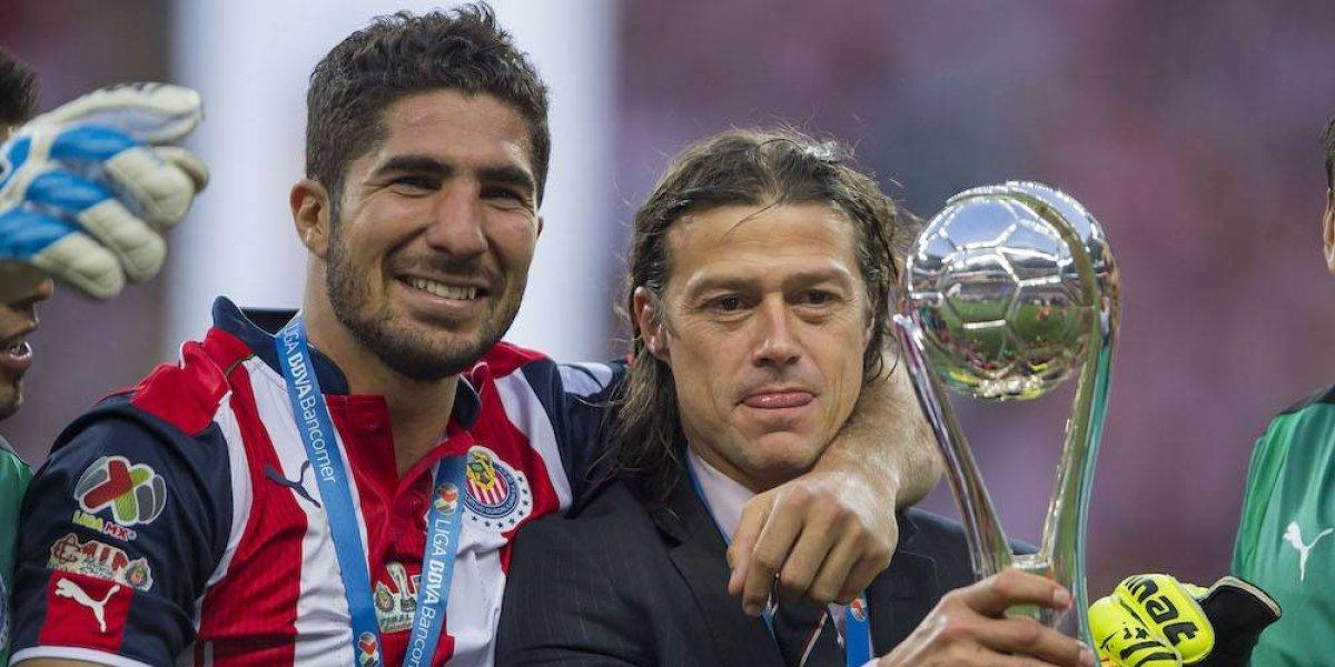 Jugadores de Chivas muestran su apoyo a Matías Almeyda