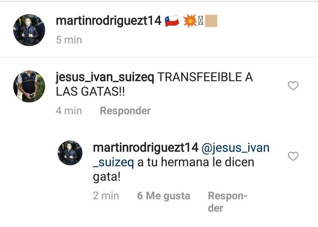 Conversación, Martín Rodríguez