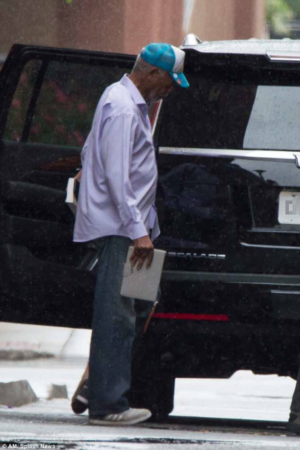 Morgan Freeman oculta prensa