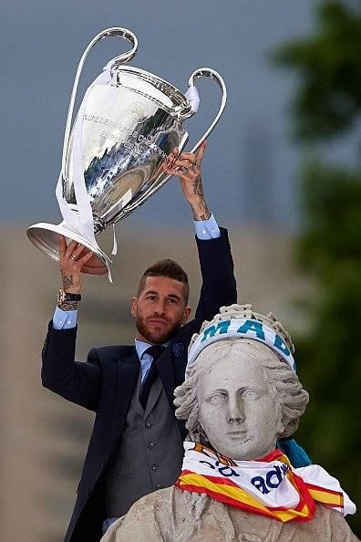 Lluvia de críticas a Sergio Ramos por su última foto en Instagram Getty