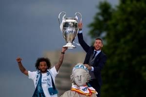 Salah no fue el único: Sergio Ramos propinó un codazo al portero Karius en la final de la Champions League