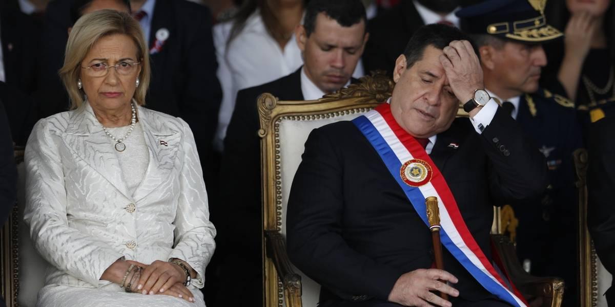 Renunció a su cargo el presidente de Paraguay