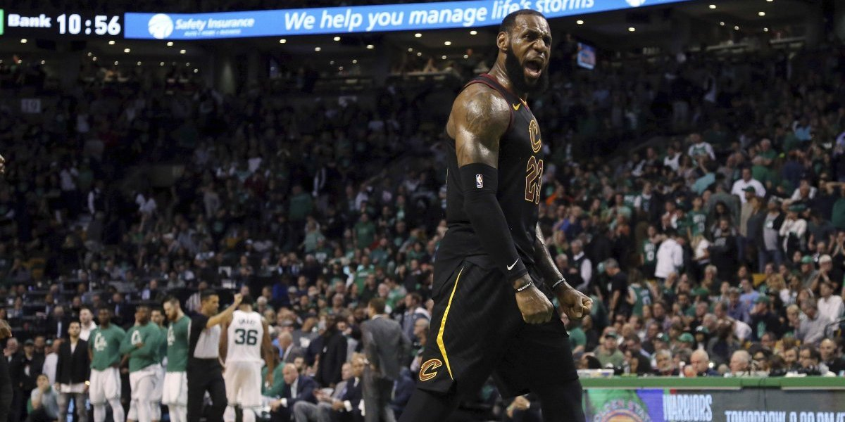 LeBron James elimina a Boston y carga a los Cavaliers a la final