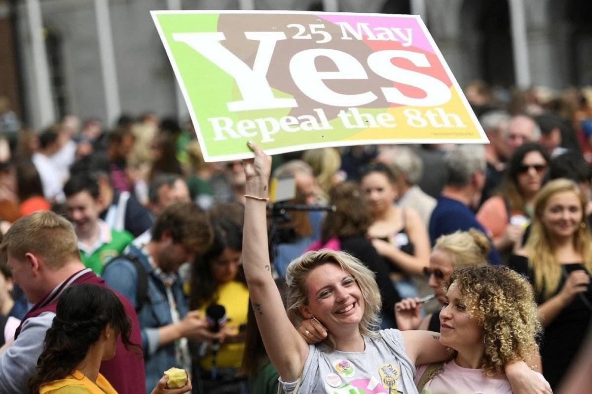 Irlanda celebracion aborto legal