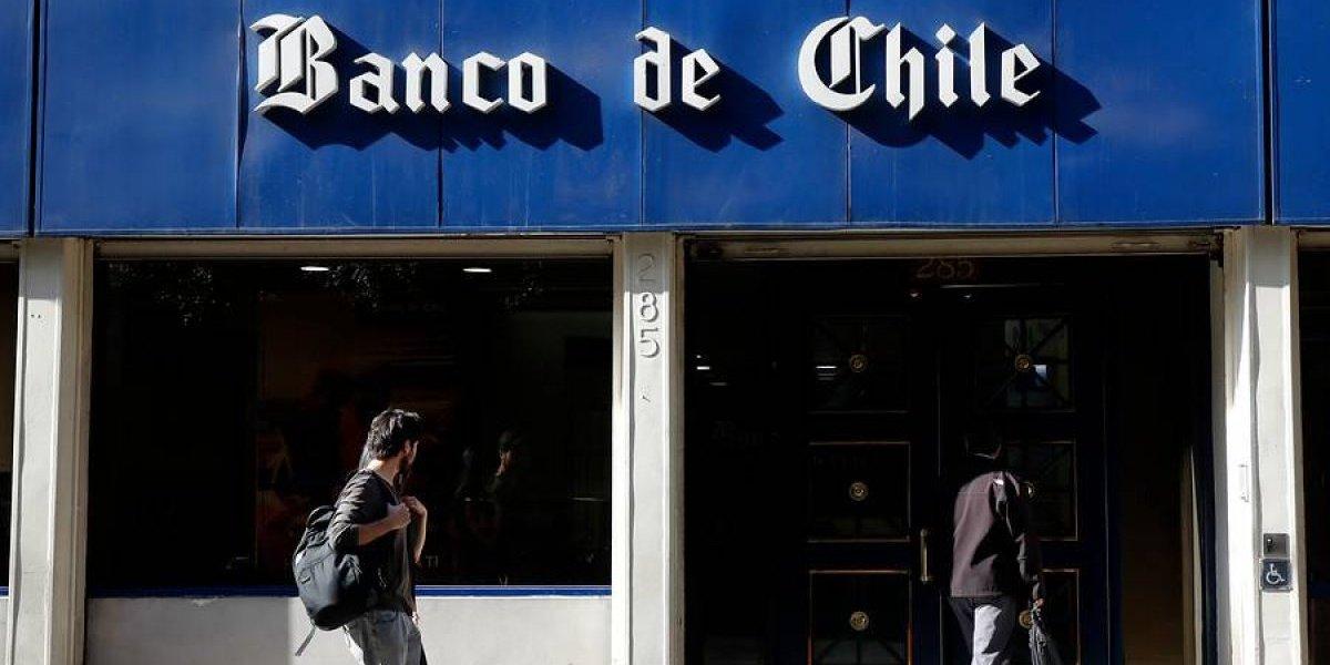 Banco de Chile confirma que falla de sucursales se debió a un virus