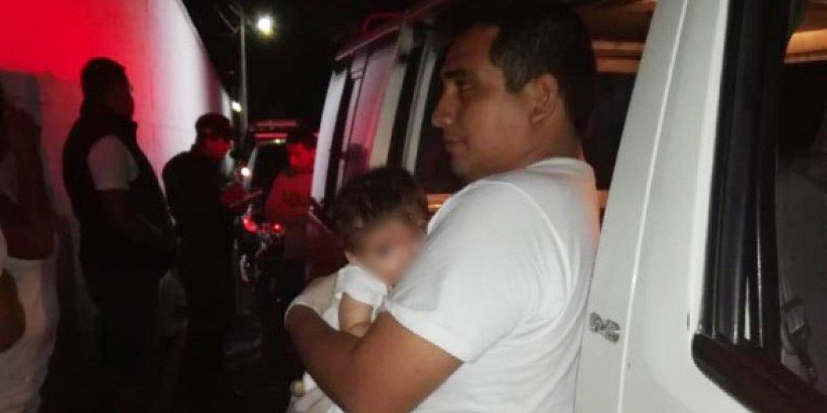 Localizan con vida a bebé que había sido robada en San Marcos