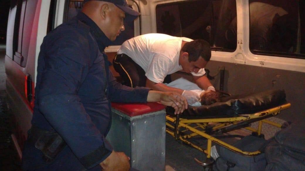 bebé rescatada en San Marcos