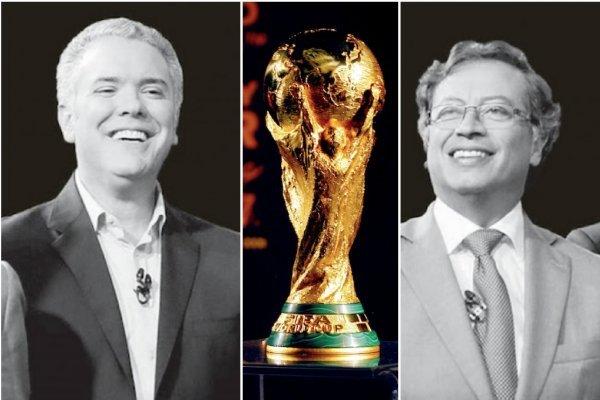 Partidos del Mundial en elecciones segunda vuelta presidencial Colombia