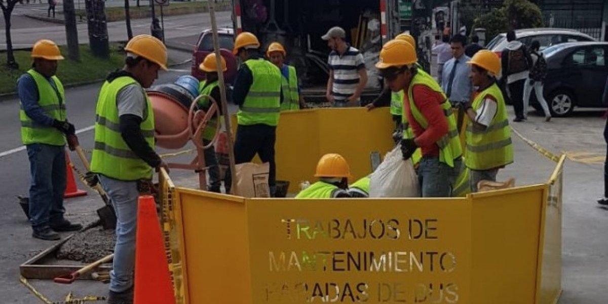 Quito: Se instalarán 414 nuevas paradas de bus en distintos sectores de la ciudad