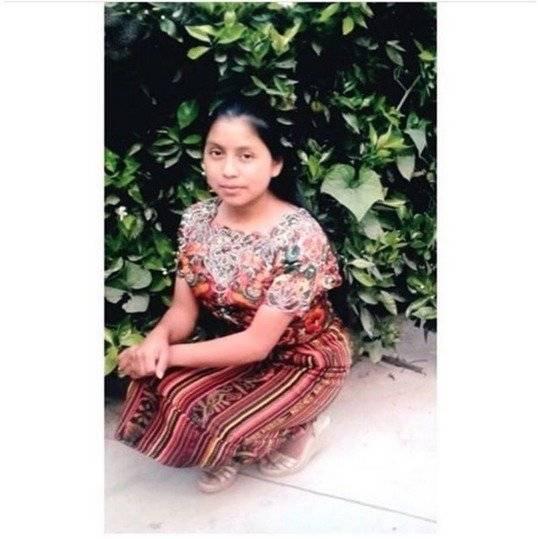 Claudia Gómez, Migrante guatemalteca