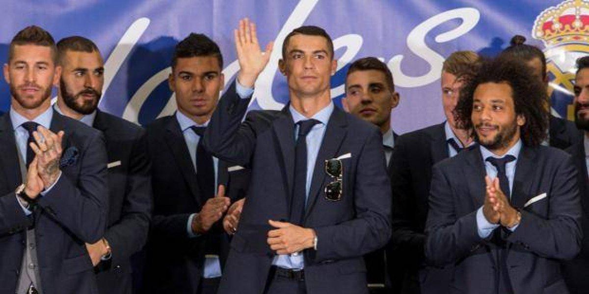 """Cristiano Ronaldo """"Gracias y hasta el próximo año"""""""