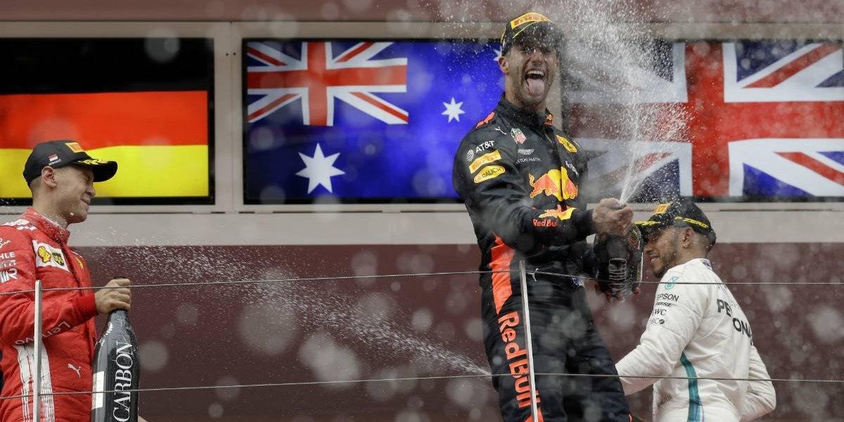 Daniel Ricciardo se corona en el Gran Premio de Mónaco