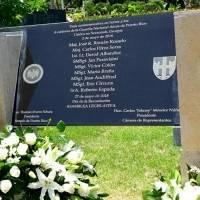 Homenaje militares caídos