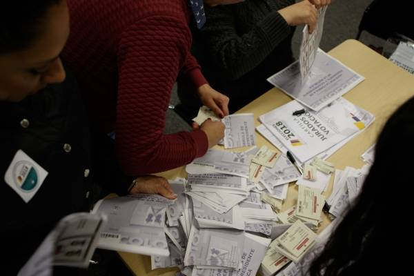 Elecciones votaciones