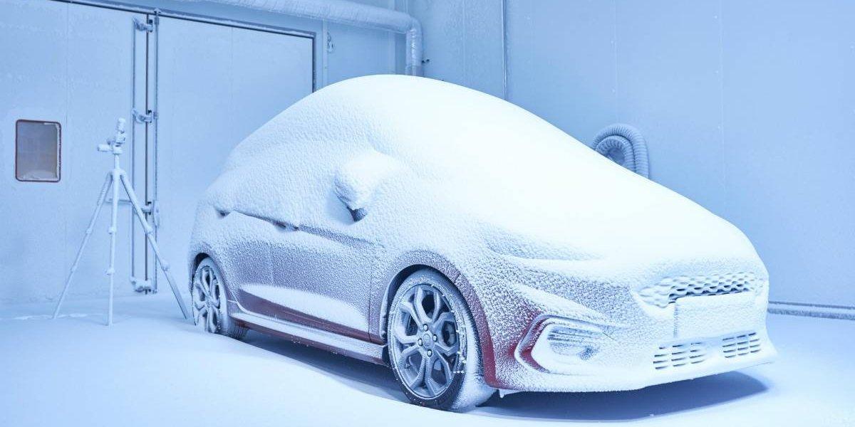 """Esta es la """"fábrica de climas"""" de Ford para probar autos"""