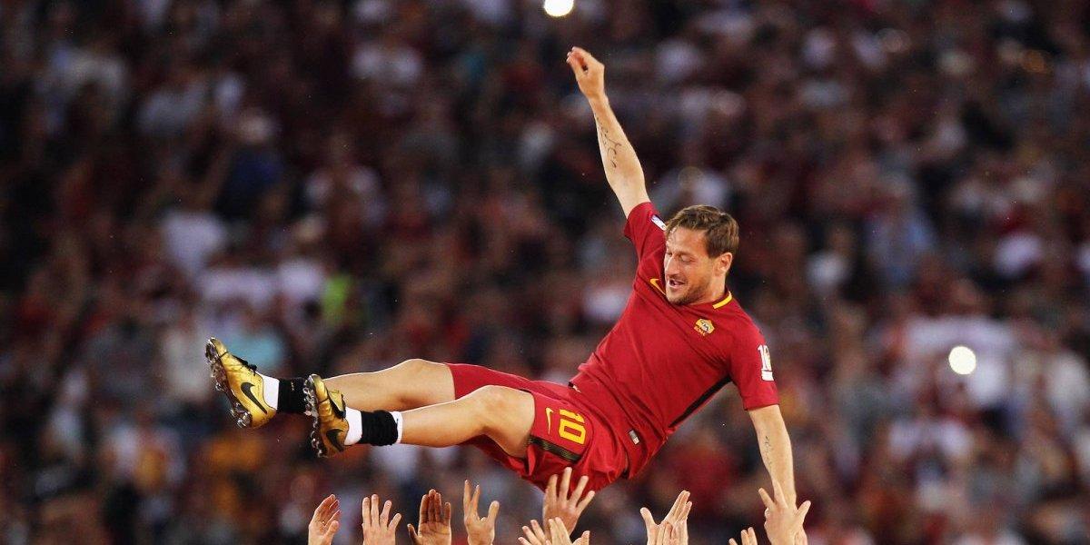 Un año de la partida de Totti de las canchas