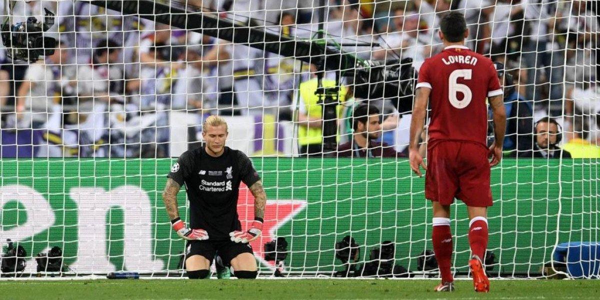 """Liverpool piensa rápido y eligió al """"millonario"""" reemplazante de Loris Karius, el villano de la final de la Champions"""