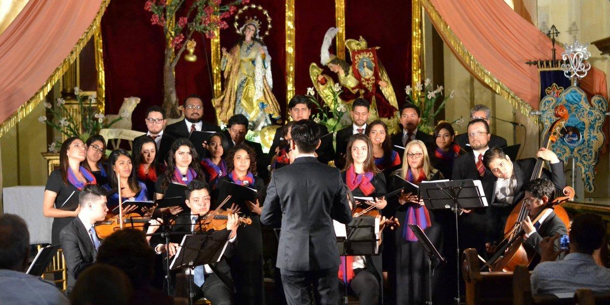Coro de jóvenes recaudan fondos para cantarle al Papa Francisco en Panamá