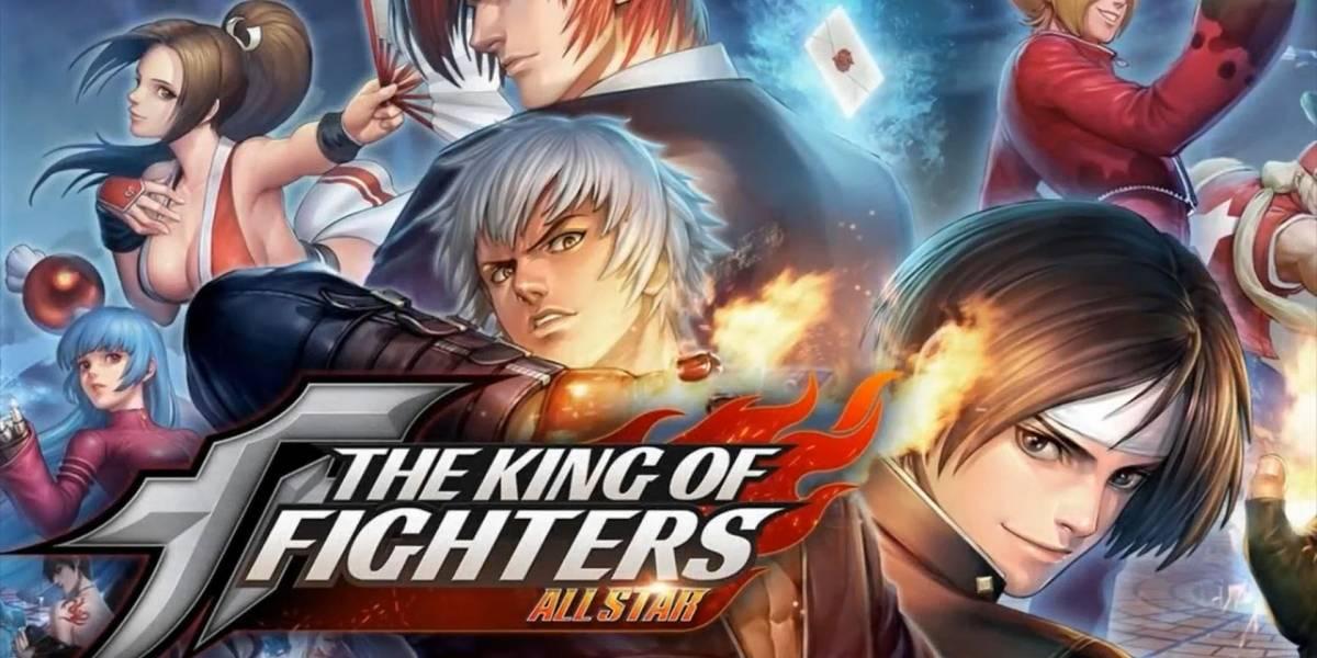 Lanzan nuevo tráiler de The King of Fighters All Star, un RPG de acción para móviles