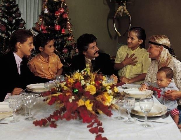 Luis Miguel y su familia