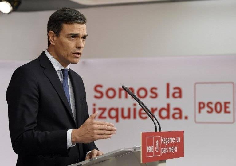 Pedro Sánchez, líder socialista español