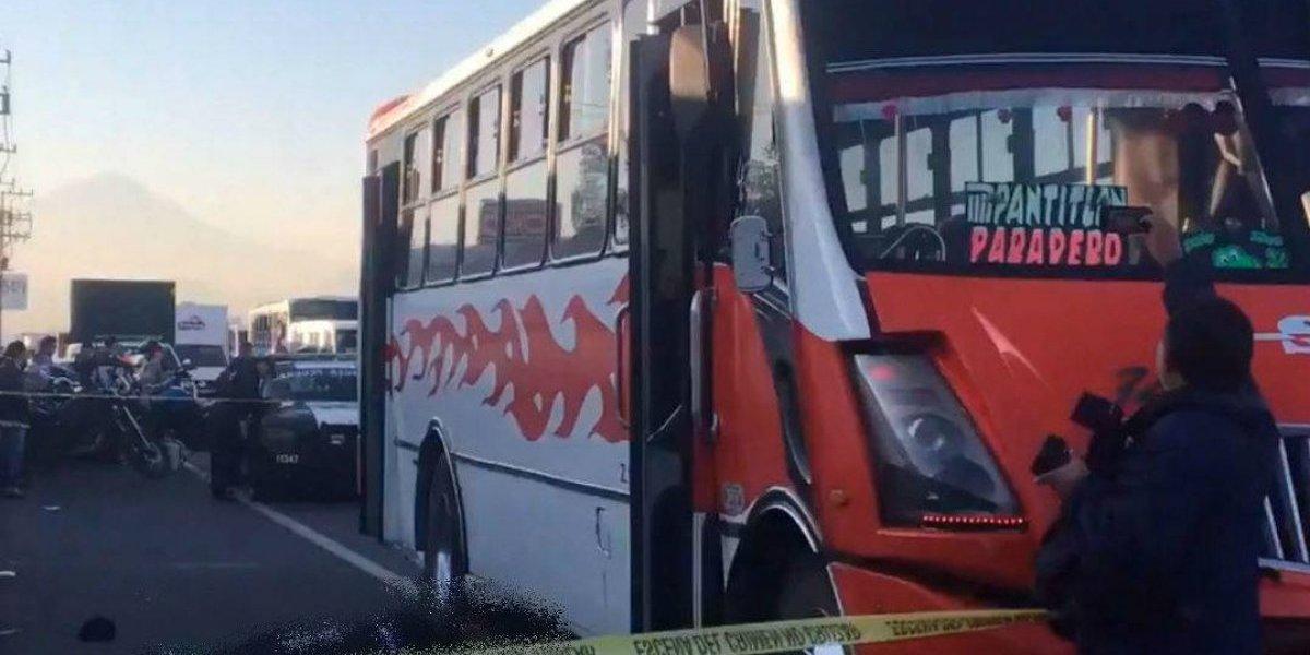 'Justiciero' abate a asaltante de transporte público en la México-Puebla