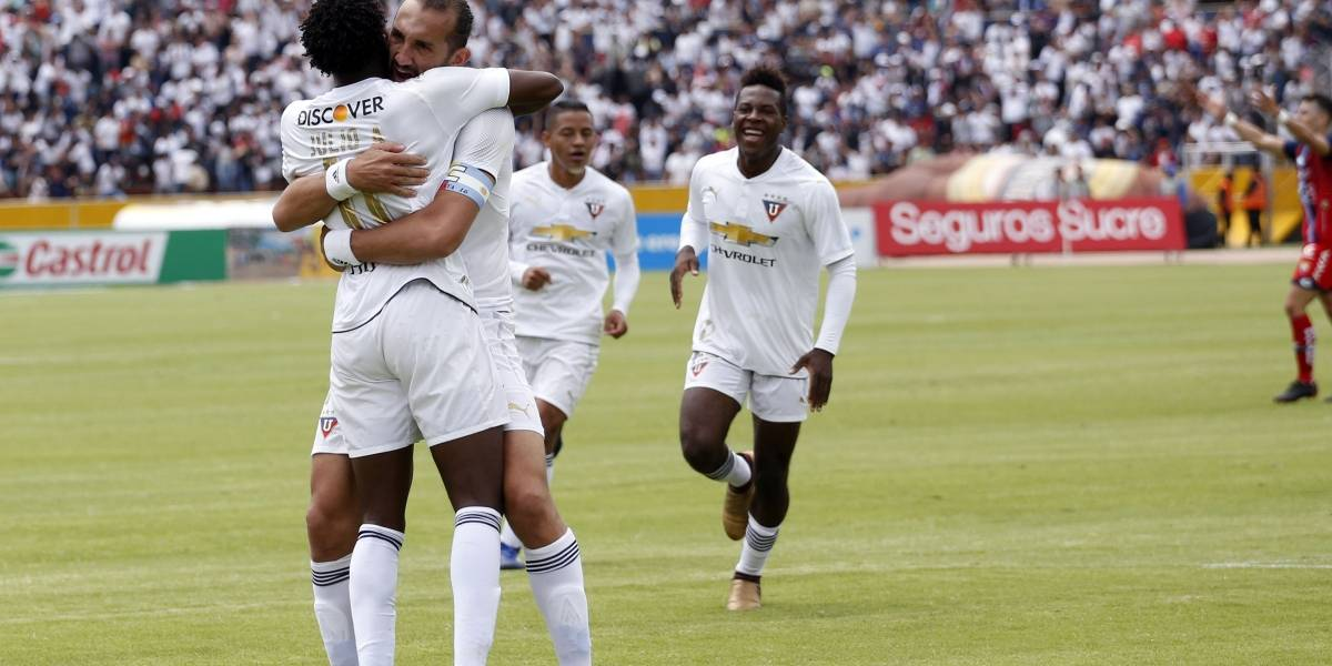 Liga de Quito ganó a Delfín 3 -0